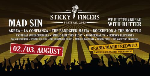Sticky Fingers 2013