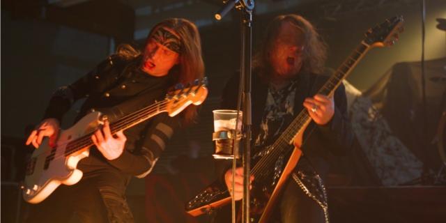 Helloween aut ihrer Hellish Rock II Tour in Schwandorf. Foto: Torsten Göhringer